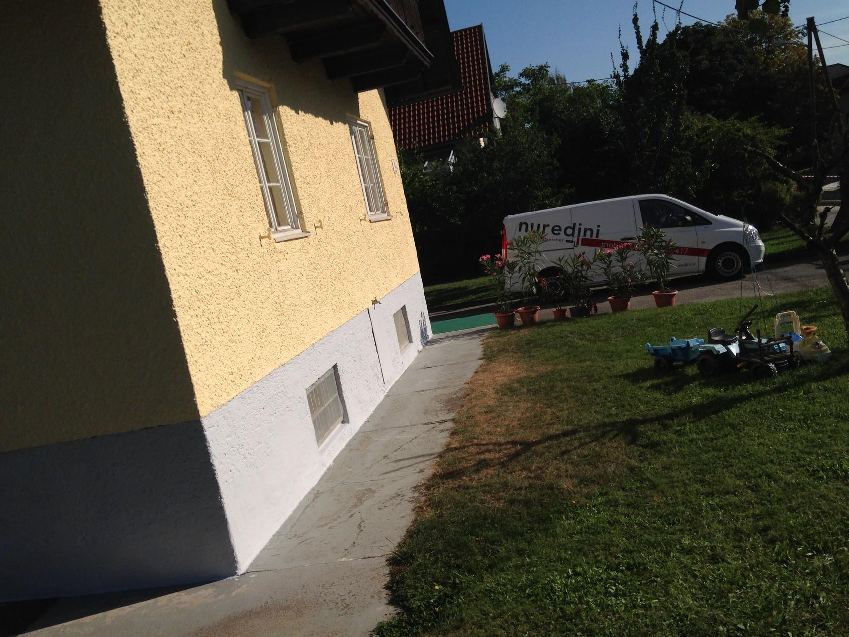 Aussen Fassade Malerei Nuredinis Webseite
