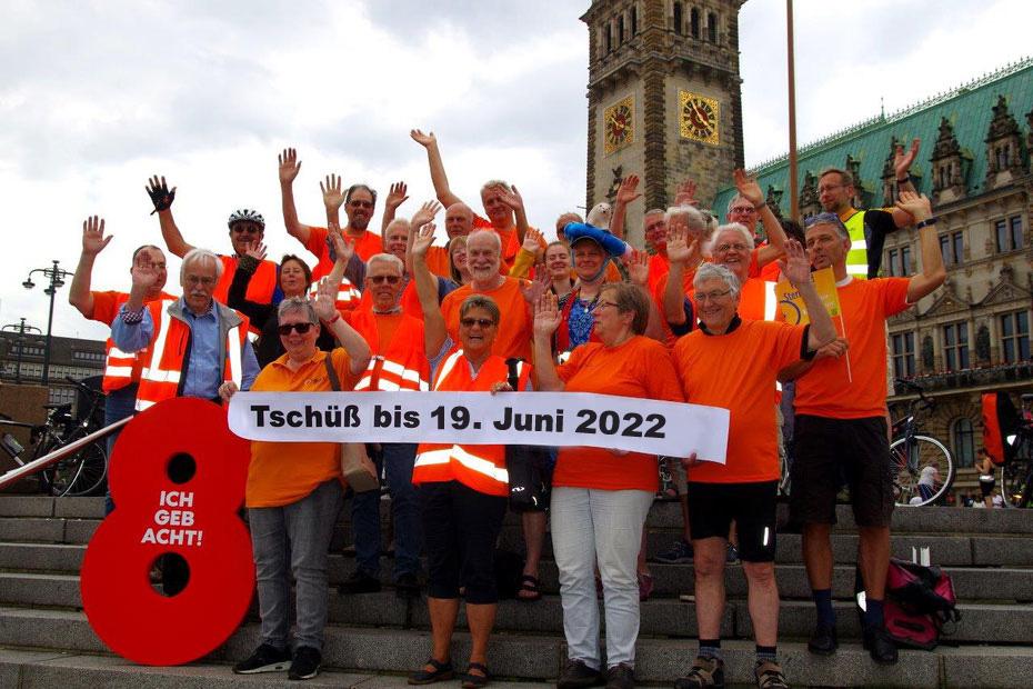 Fahrradsternfahrt 2021