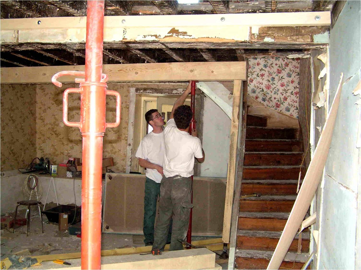 V-Rénovation des plafonds et mise en valeur des murs en pierres dans l'Ain (01)