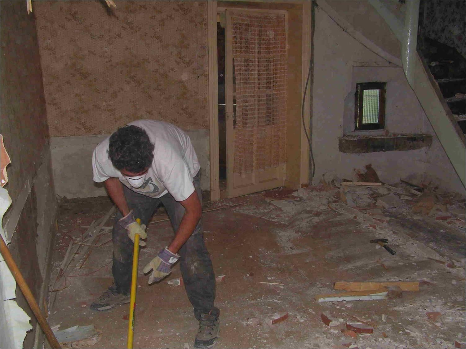 II-Rénovation du séjour-cuisine dans l'Ain (01)