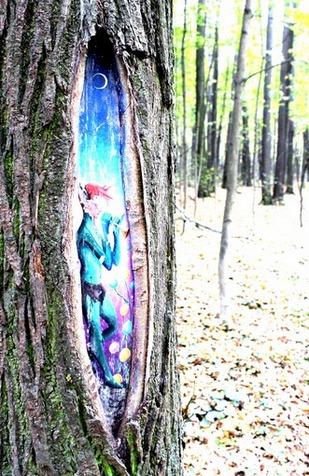 Erleuchtung ist so geheimnisvoll wie ein anmutiger Waldelf