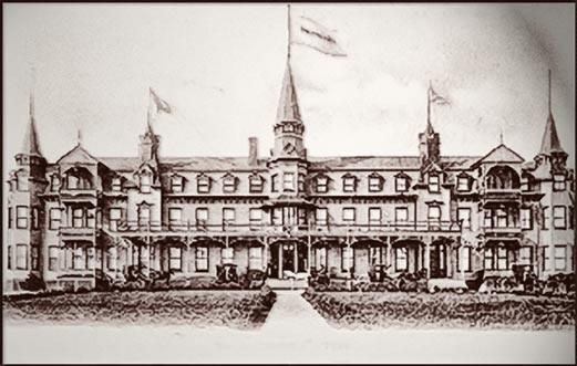 Hôtel Roberval en 1900