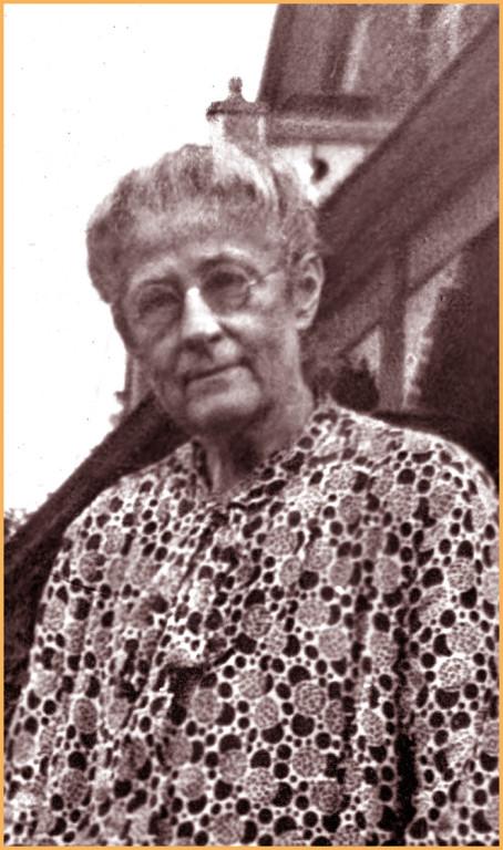Émilia Quesneli, femme d'Adélard et aussi cousine