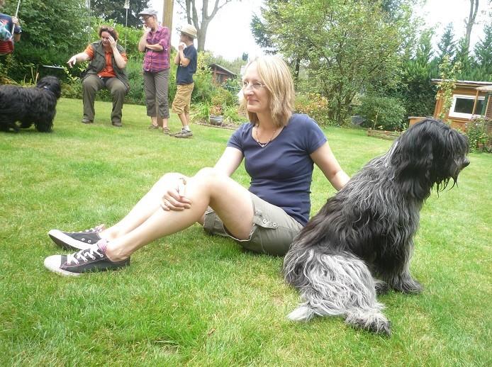Kathi mit Emma
