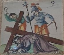 IX Estación, Jesús cae por tercera vez