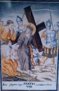 Via Crucis VIII, Desierto de las Palmas
