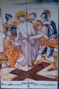 Via Crucis X, Desierto de las Palmas