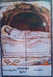 Via Crucis XIV, Desierto de las Palmas