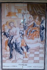 Via Crucis I, Desierto de las Palmas
