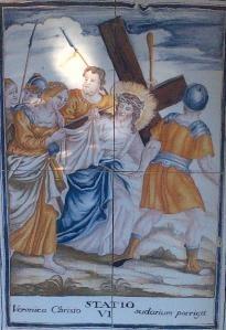Via Crucis VI, Desierto de las Palmas