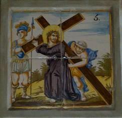 Via Crucis V; Santa Clara, Molina de Aragón