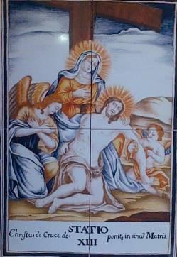 Via Crucis XIII, desierto de las Palmas