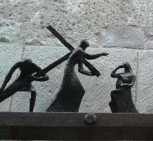 VIII Estación, Jesús se dirige a las mujeres de Jerusalén