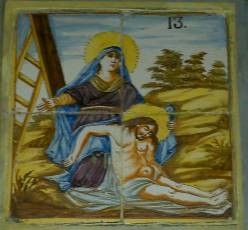 Via Crucis XIII, Santa Clara, Molina de Aragón