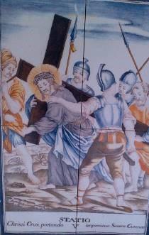 Via Crucis V, Desierto de las Palmas