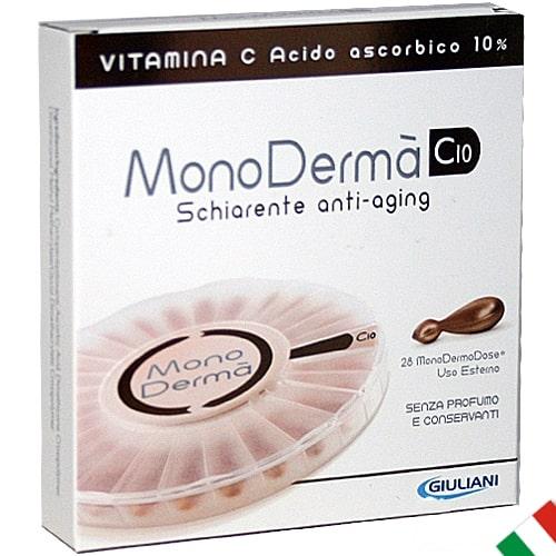 Trattamento viso 28 giorni scatola MonoDermà schiarente anti-aging