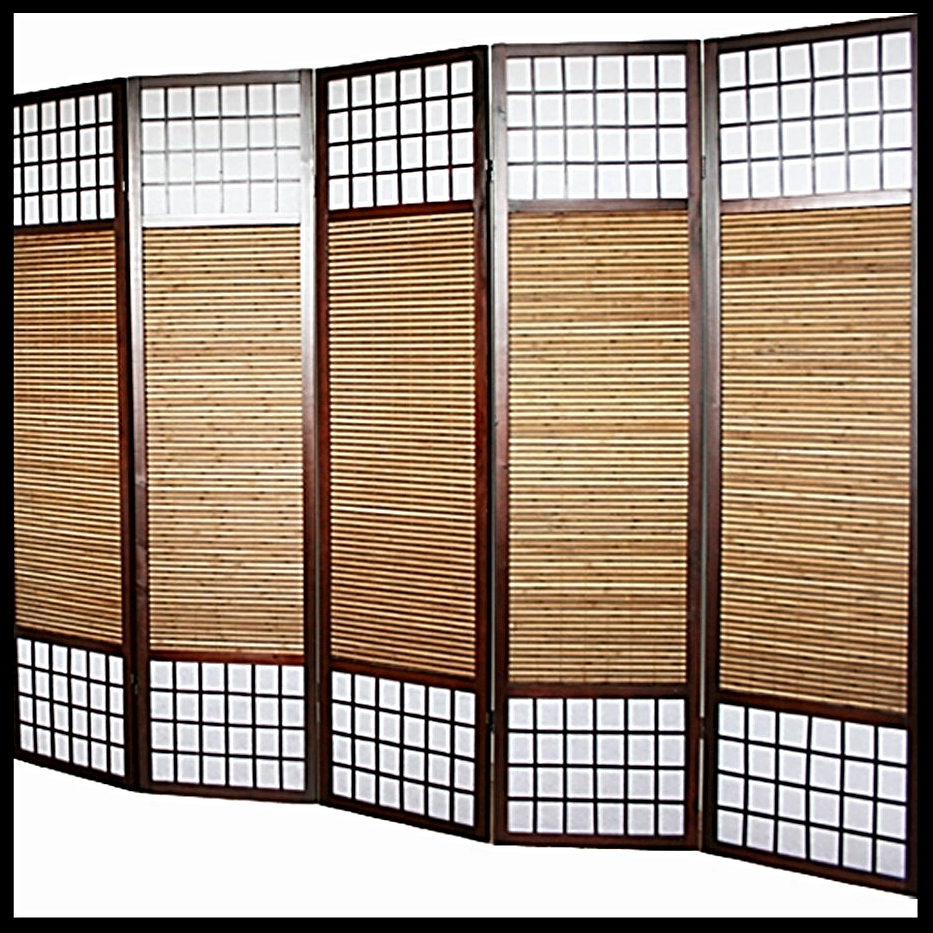 Paravento divisorio in Bambù