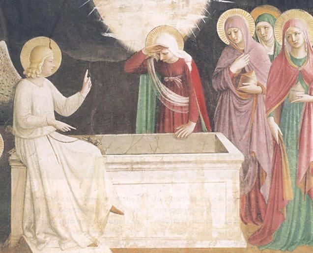 Annunciazione dell'angelo alle tre donne