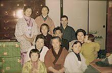 Tipica famiglia giapponese