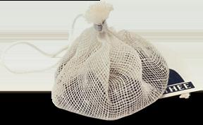 Sacchetto tè simile alla borsetta in stile rococò