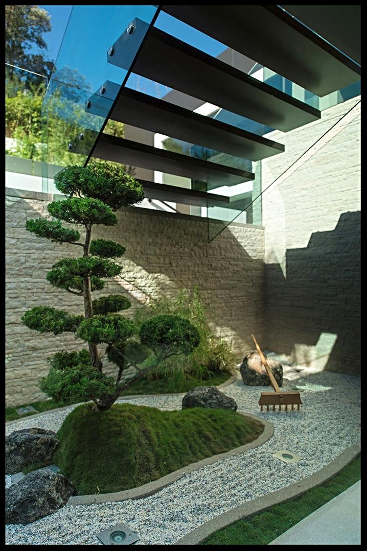 Giardino zen in casa