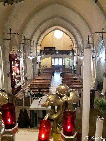 Santuario visto dall'altare