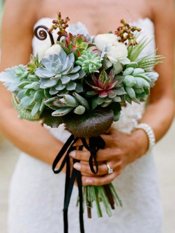 Bouquet Di succulente piante grasse
