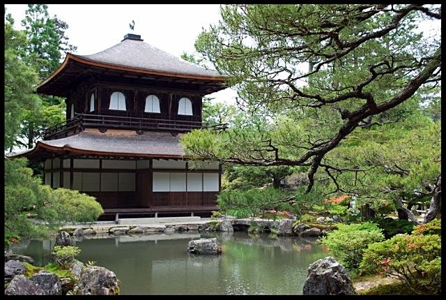 Giardino Zen grande villa giapponese