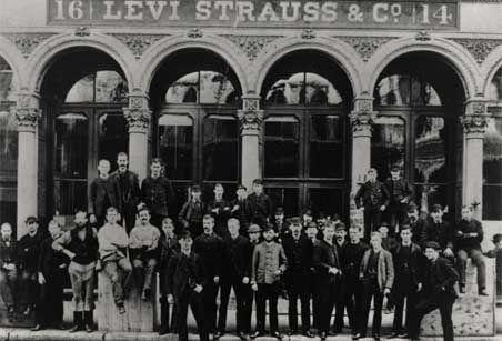 Fondazione dell'azienda Levi Strauss 1853