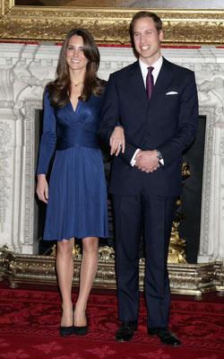 Kate middleton vestita di blue tendenza 2020