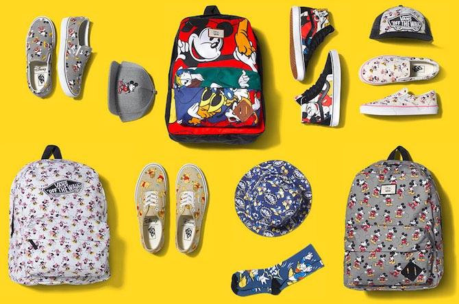 Linea abbigliamento e accessori Topolino