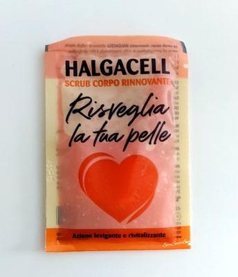 Scrub corpo rinnovante Halgacell fronte