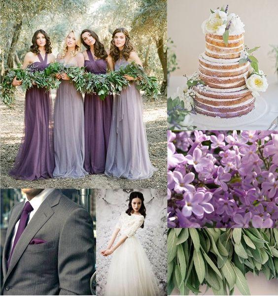 color salvia e lilla 2019 Pantone matrimoni 2019