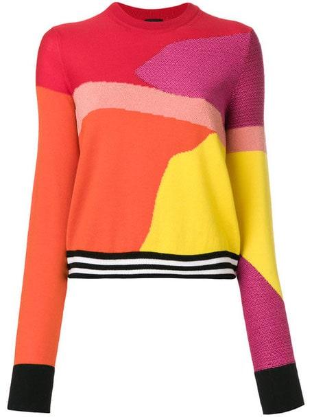 Maglione color block  multicolore By Paul Smith 2020