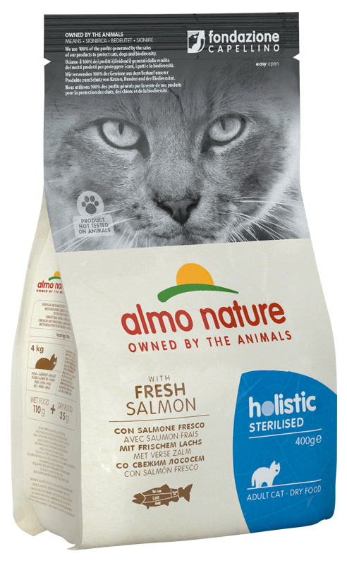 Review croccantini per Gatto Almo Nature Holistic