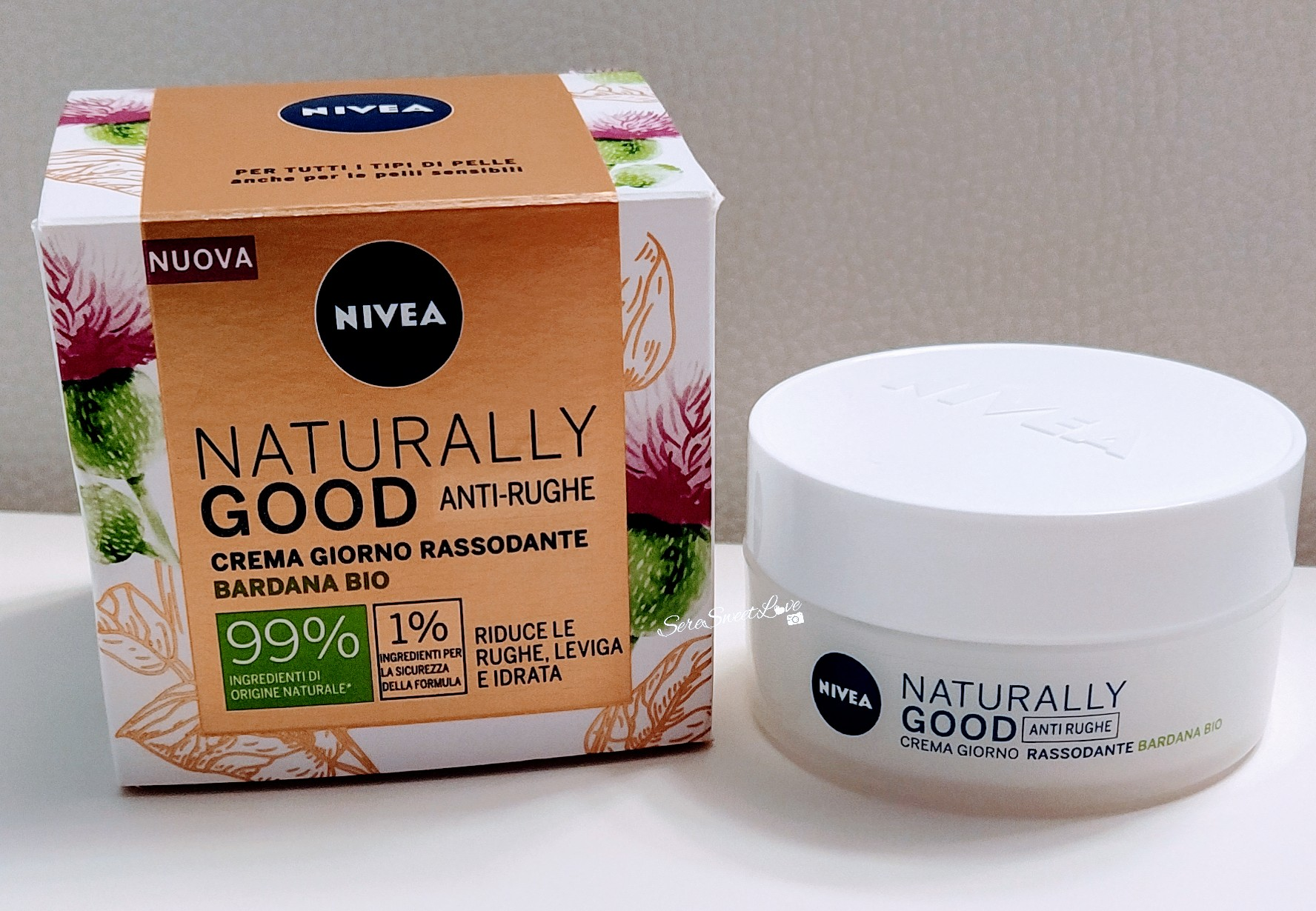 Review crema viso anti-rughe Nivea  Naturally Good