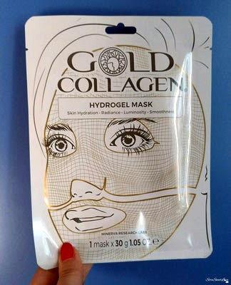 Bustina La maschera GOLD COLLAGEN® fronte confezione