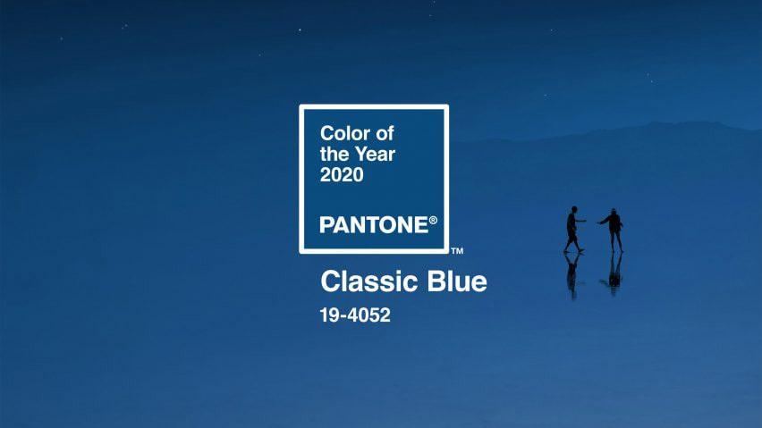Colore del 2020 scelto da pantone il classic Blue 19-4052