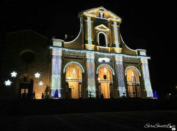 Basilica e Santuario addobbato  festività 2017/2018