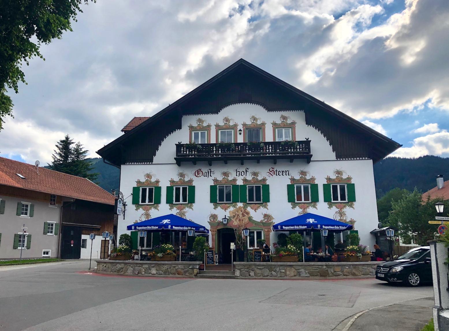 Gasthaus nahe Oberammergau