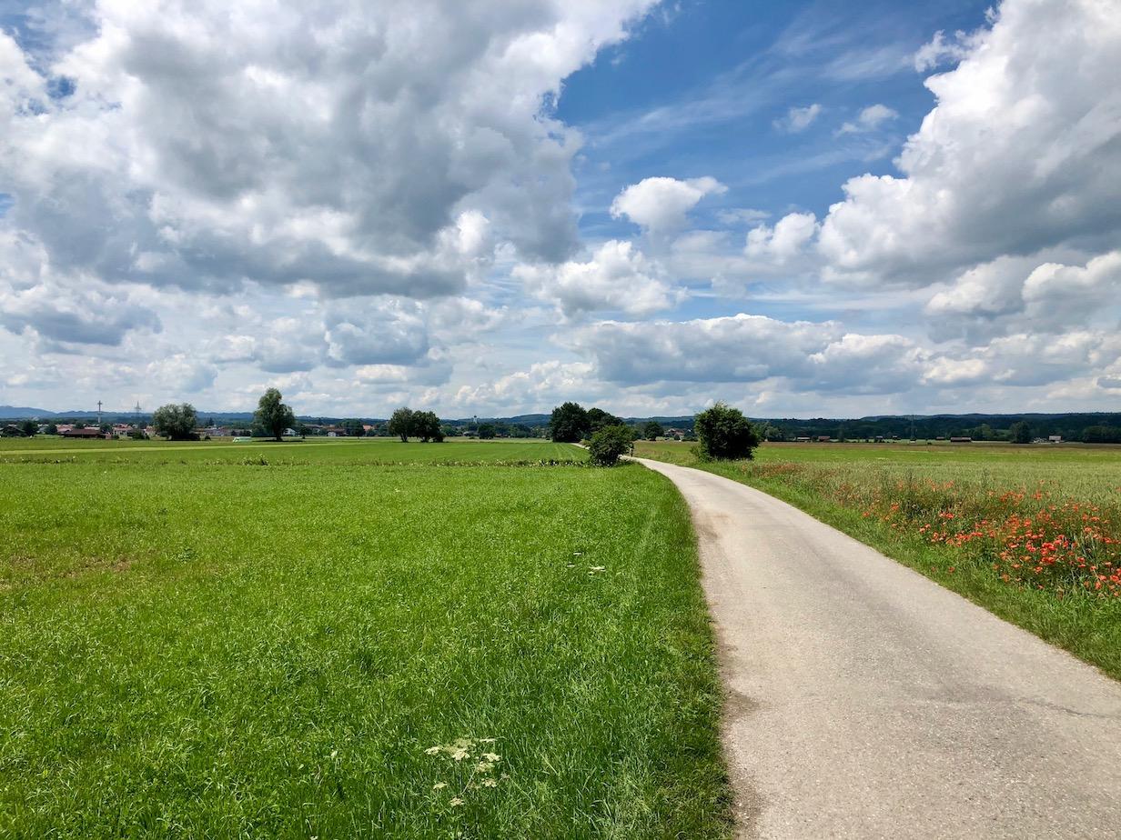auf dem AAR zwischen Ammersee und Weilheim