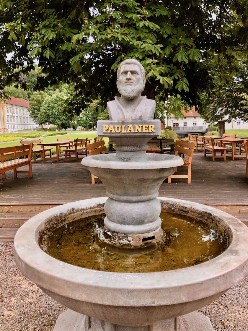 im Klostergarten in Fürstenfeldbruck