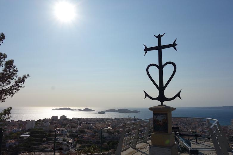 Marseille, Ausblick von Notre-Dame de la Garde