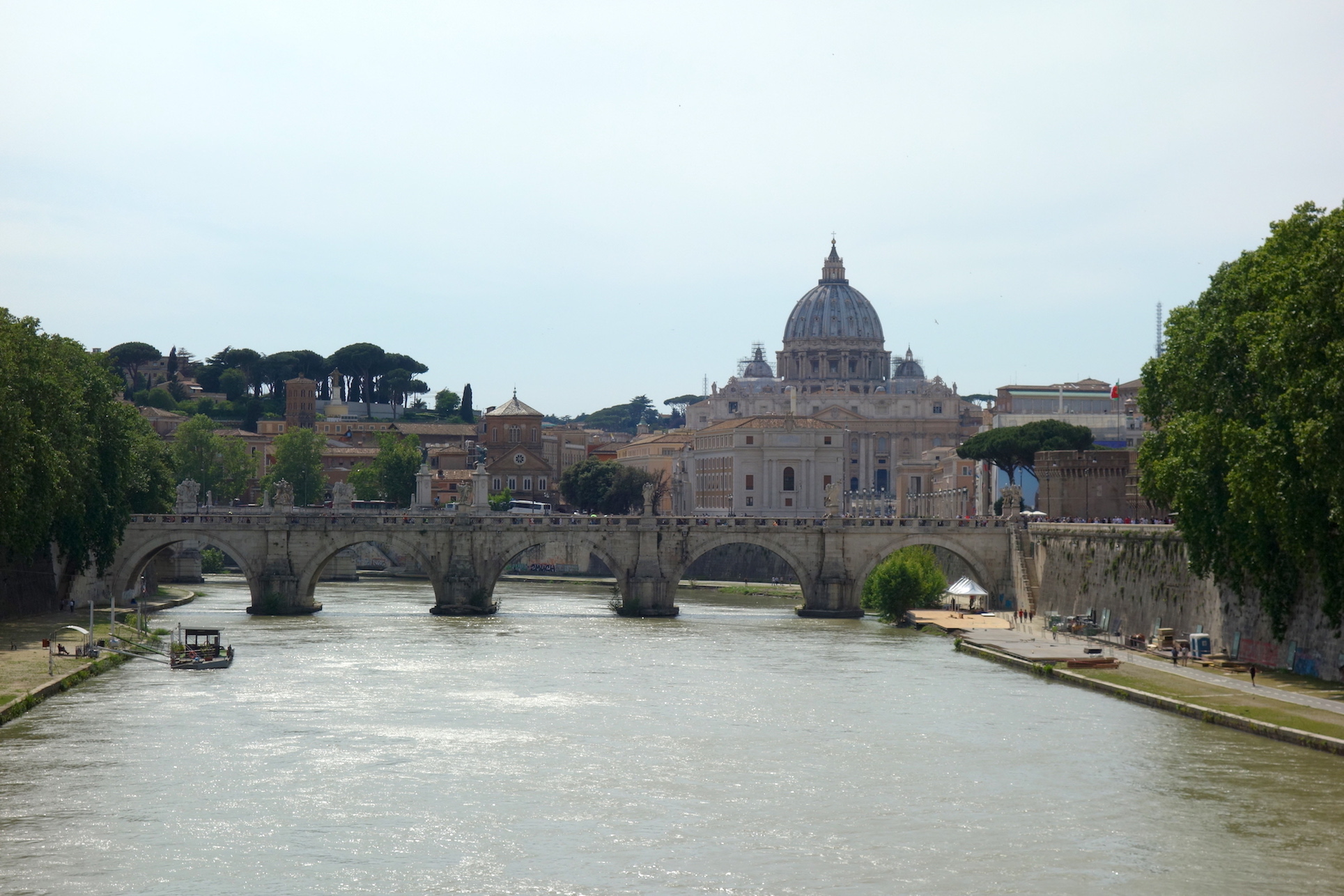 Petersdom & Tiber
