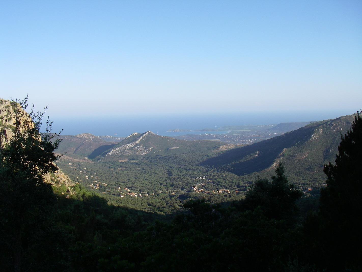 Ausblick auf das Ziel Conca