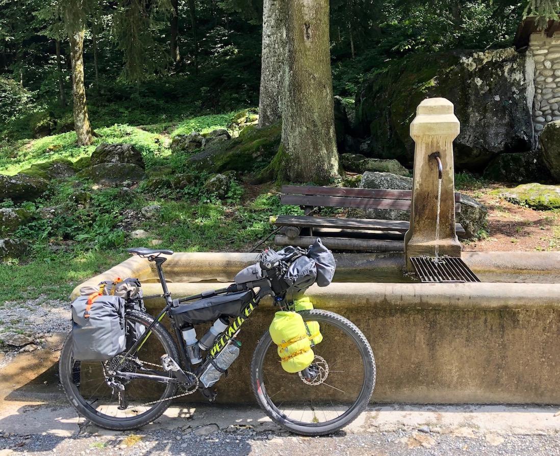 Trinkwasser beim Rifugio Pian delle Gorre