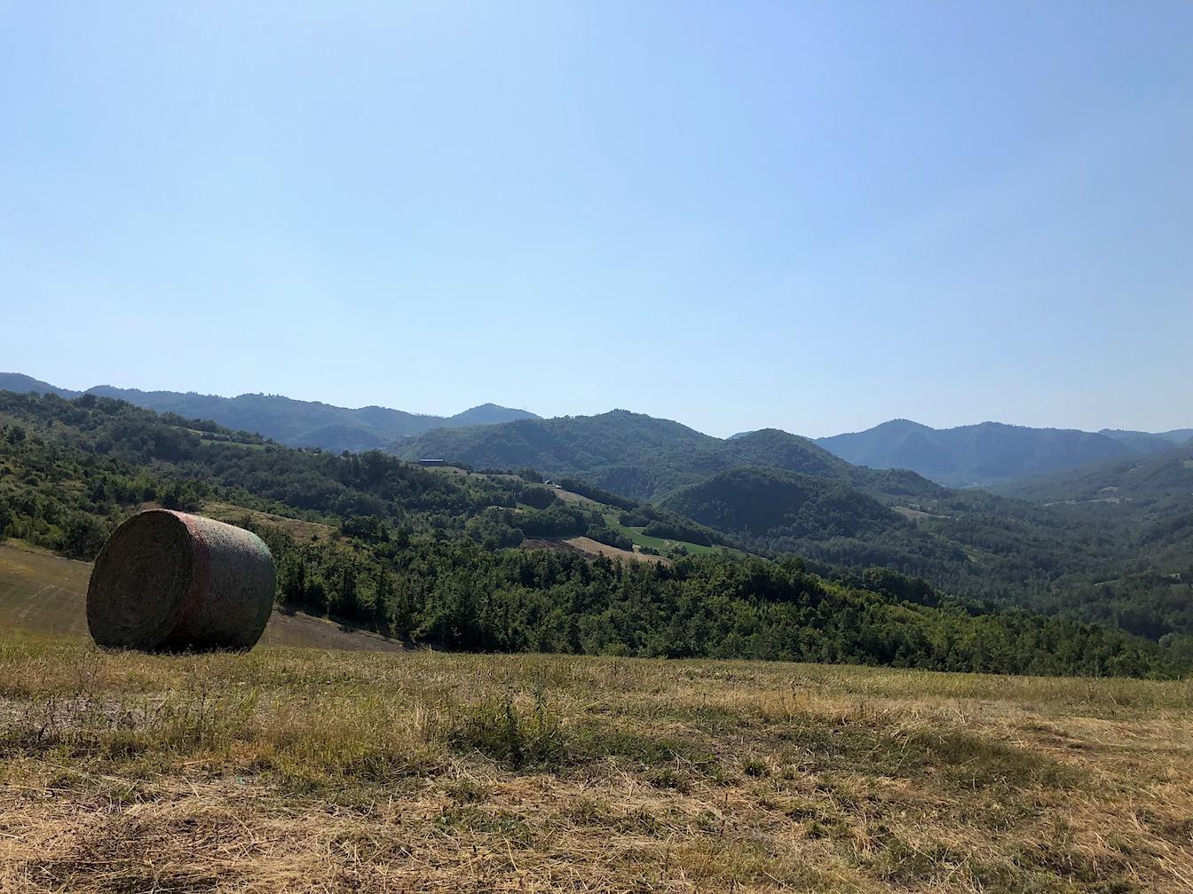 Blick in die Berge des Apennin