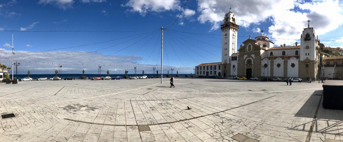 Plaza de la Patrona de Canarias mit Basílica de Nuestra Señora de la Candelaria