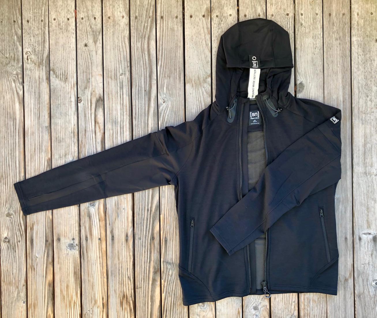 Herren Motion Zip Hoodie (jet-Black)