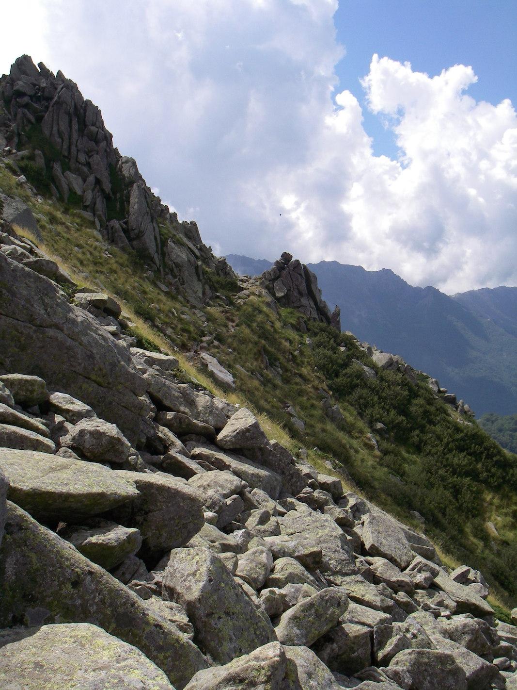 Auf dem Weg vom Refuge de Prati zum Refuge d'Usciolu